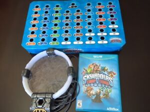 THE SKYLANDERS TRAP TEAM GAME, FOR THE WII U