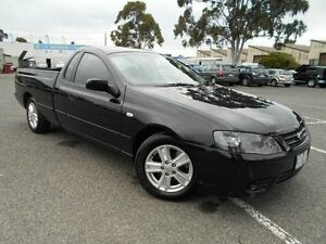 2008 Ford Falcon BF MkII XL (LPG) Black 4 Speed Auto Seq Sportshift Utility Maidstone Maribyrnong Area Preview