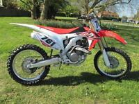 Honda CRF450R 450cc (16MY) Moto Cross 2016MY