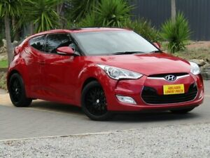 2014 Hyundai Veloster FS3 + Coupe D-CT Maroon 6 Speed Sports Automatic Dual Clutch Hatchback