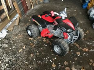 Battery operated 4 wheeler