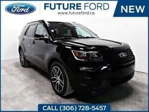 2018 Ford Explorer Sport   3.5 ECOBOOST   2ND ROW CAPTAIN CHAIRS