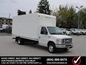 2011 FORD E-450 SUPER DUTY CUBE VAN 16 FT. BOX