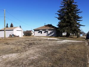 Corner commercial lot now available in Tofield!!!