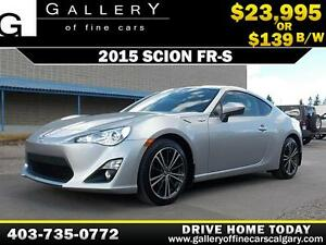 2015 Scion FR-S Coupe $139 bi-weekly APPLY NOW DRIVE NOW