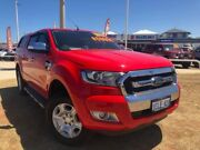 2015 Ford Ranger PX MkII XLT Double Cab Red 6 Speed Sports Automatic Utility Beresford Geraldton City Preview