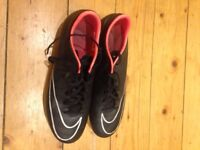 Football boots -Nike Mercurial UK size 8