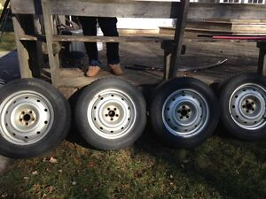 4 BF Goodrich Winter Slalom Tires For Sale Kitchener / Waterloo Kitchener Area image 2