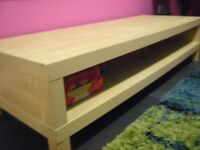 IKEA LIGHT WOOD EFFECT TV UNIT