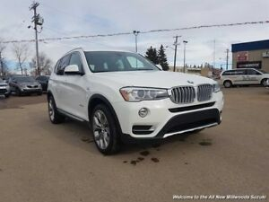 2015 BMW X3 xDrive28i ONE OWNER-ACCIDENT FREE