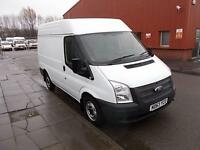 Ford Transit T280 SWB MEDIUM ROOF VAN TDCI 125PS DIESEL MANUAL WHITE (2014)