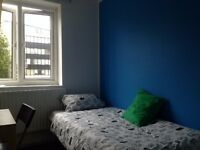 SINGLE ROOM AVAILABLE NOW!! ALL BILLS INCLUDED! 5 MINS FROM MILE END AND BOW ROAD!!