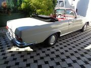 Mercedes-Benz 280 SE-3,5 W 111 Conversion -Cabrio Leder rot
