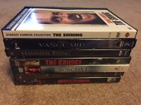 ASSORTED HORROR MOVIE DVD - $2 EACH OR $10 FOR BUNDLE