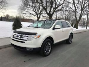 2008 FORD EDGE, LIMITED, 4X4, CUIR, PANORAMIQUE, SENSORS,STARTER