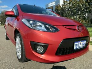 2008 Mazda 2 DE Genki Red 4 Speed Automatic Hatchback Malaga Swan Area Preview