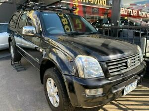 2005 Holden Rodeo RA MY05 LT Crew Cab 4x2 Black 4 Speed Automatic Utility Maidstone Maribyrnong Area Preview