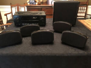 Home Theatre Surround Sound INCL Outdoor Speakers & 7.2 Receiver