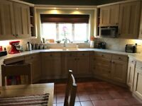Moores kitchen units and all appliances