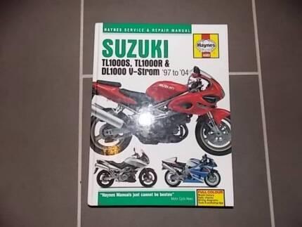 Suzuki V-Strom, TLR 1000 shop manual