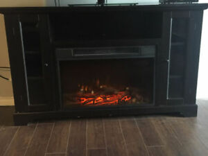 Kenwood Electric Fireplace and Entertainment Unit