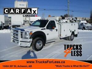 2013 Ford F-550 XLT 4X4, Service Truck