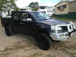 2012 Great Wall V200 K2 MY12 4x4 Black Manual Utility Greenslopes Brisbane South West Preview