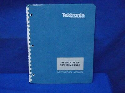 Tektronix Tm 506 Trtm 506 Instruction Manual