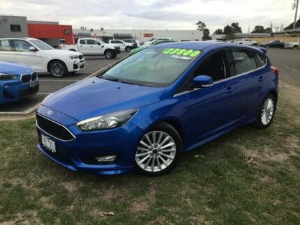 2017 Ford Focus Blue Automatic Hatchback Traralgon Latrobe Valley Preview