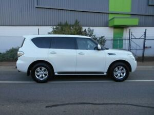 2013 Nissan Patrol Y62 TI-L White 7 Speed Sports Automatic Wagon Beverley Charles Sturt Area Preview