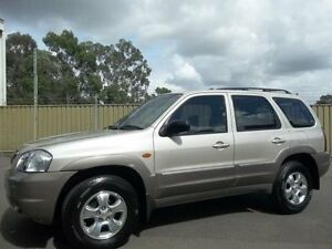 2003 Mazda Tribute Luxury Gold 4 Speed Automatic 4x4 Wagon Lalor Park Blacktown Area Preview