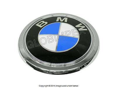 "BMW E65 BMW ""Roundel"" for Trunk Lid Emblem GENUINE +1 YEAR WARRANTY"