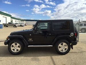 2009 Jeep Wrangler Sahara 2 door