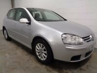 VOLKSWAGEN GOLF 1.6 FSI 2007/07, LOW MILES,LONG MOT,HISTORY, WARRANTY, FINANCE AVAILABLE