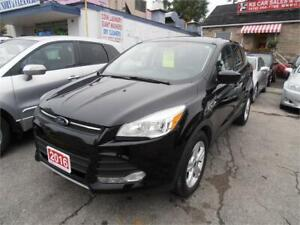 2016 Ford Escape SE SUV One owner Black Only 41,000km
