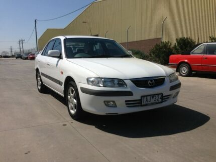 2001 Mazda 626 Classic White 4 Speed Automatic Sedan Spotswood Hobsons Bay Area Preview