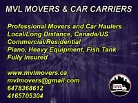 Toronto to Alberta long distance moving service