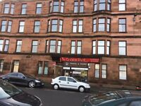 Traditional 1 bedroom 1st floor flat Calder Street Govanhill Available Now