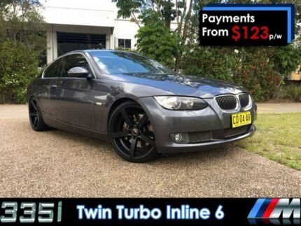 2007 BMW 335i E92 MY08 Steptronic Grey 6 Speed Sports Automatic Coupe