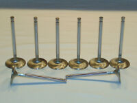 "STAINLESS STEEL 1.600"" EXHAUST VALVE SET OF (8) CHEVROLET & FORD"