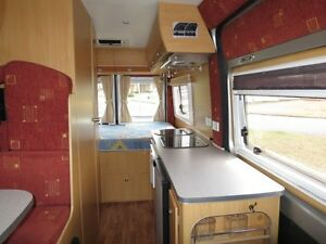 Avan Applause Motorhome – 4 SEATS – PERMANENT BED Glendenning Blacktown Area Preview