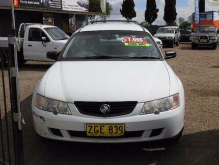 2003 Holden Commodore VY Acclaim White 4 Speed Automatic Wagon Colyton Penrith Area Preview