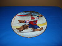 Collector's Hockey Plate