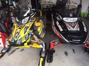 Snowmobile Package, Trailer, MXZ600, Indy500.  LOW MILES!!!