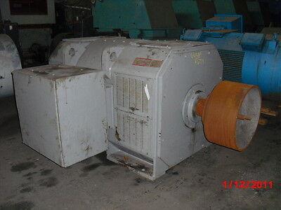 500 Hp Dc General Electric Motor 400 Rpm 6774 Frame Dpfv 500 V
