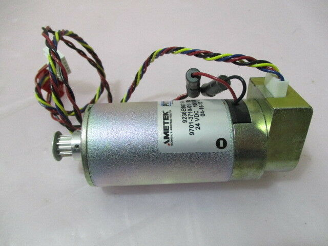 Asyst 9701-3710-01 Servo Motor, Pittman 9236E867-R4, 24 VDC, 100 CPR, 420117