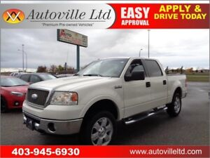 2008 Ford F150 Lariat 4X4 Leather Sunroof Backup Camera