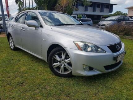 2008 Lexus IS250 GSE20R MY09 Sports Luxury Silver 6 Speed Sports Automatic Sedan Berrimah Darwin City Preview
