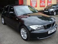 BMW 1 SERIES 1.6 116i ES 5dr - £4,995 - SERVICE HISTORY - LOW MILEAGE - 2007 PLATE - CHEAP INSURANCE