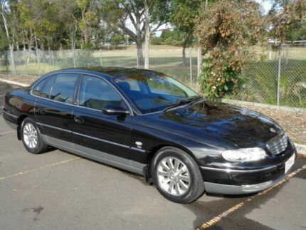 2002 Holden Statesman WH II Black 4 Speed Automatic Sedan Clontarf Redcliffe Area Preview